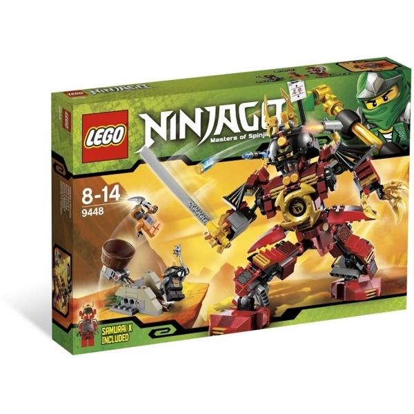 Bo xep hinh Lego ninjago Samurai