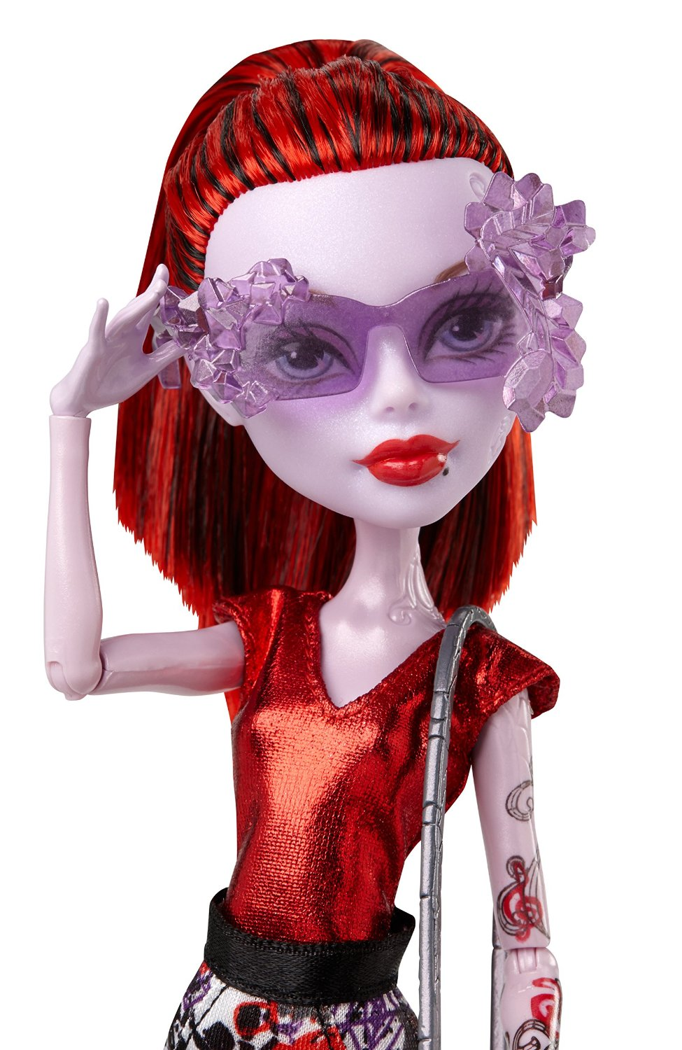 Bup be cam thach Monster High Boo York