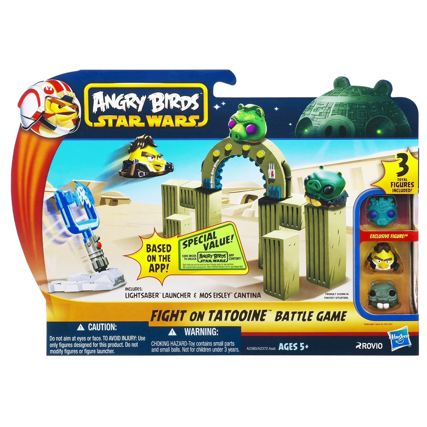 Ghep hinh Angry Birds Star Wars Fight On Tatooine