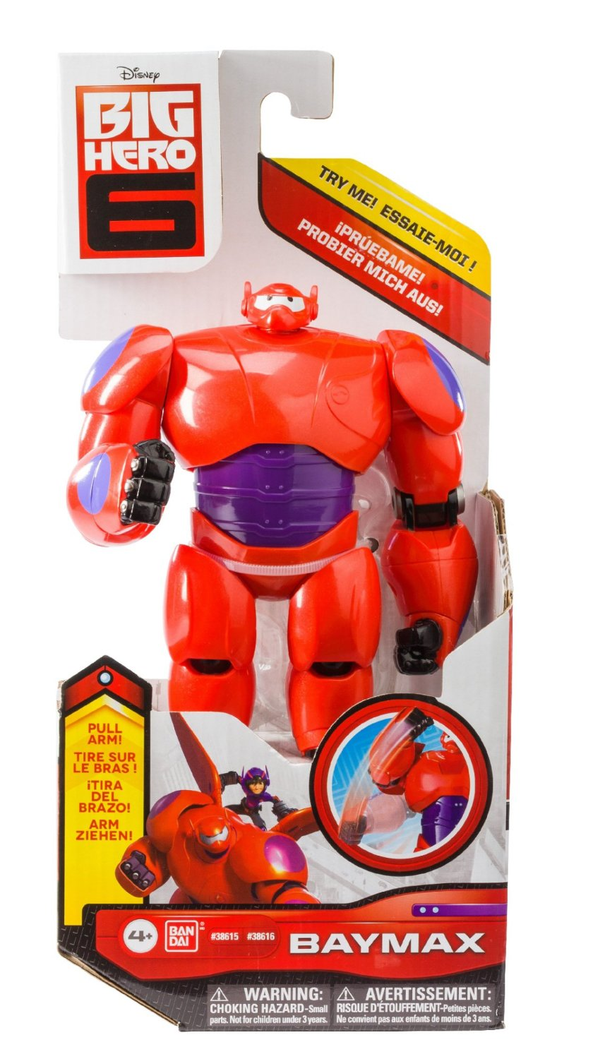 Mo hinh Big Hero 6 6 Baymax Action Figure