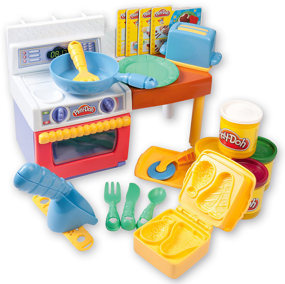 Play Doh Fun With Food Meal Makin Kitchen