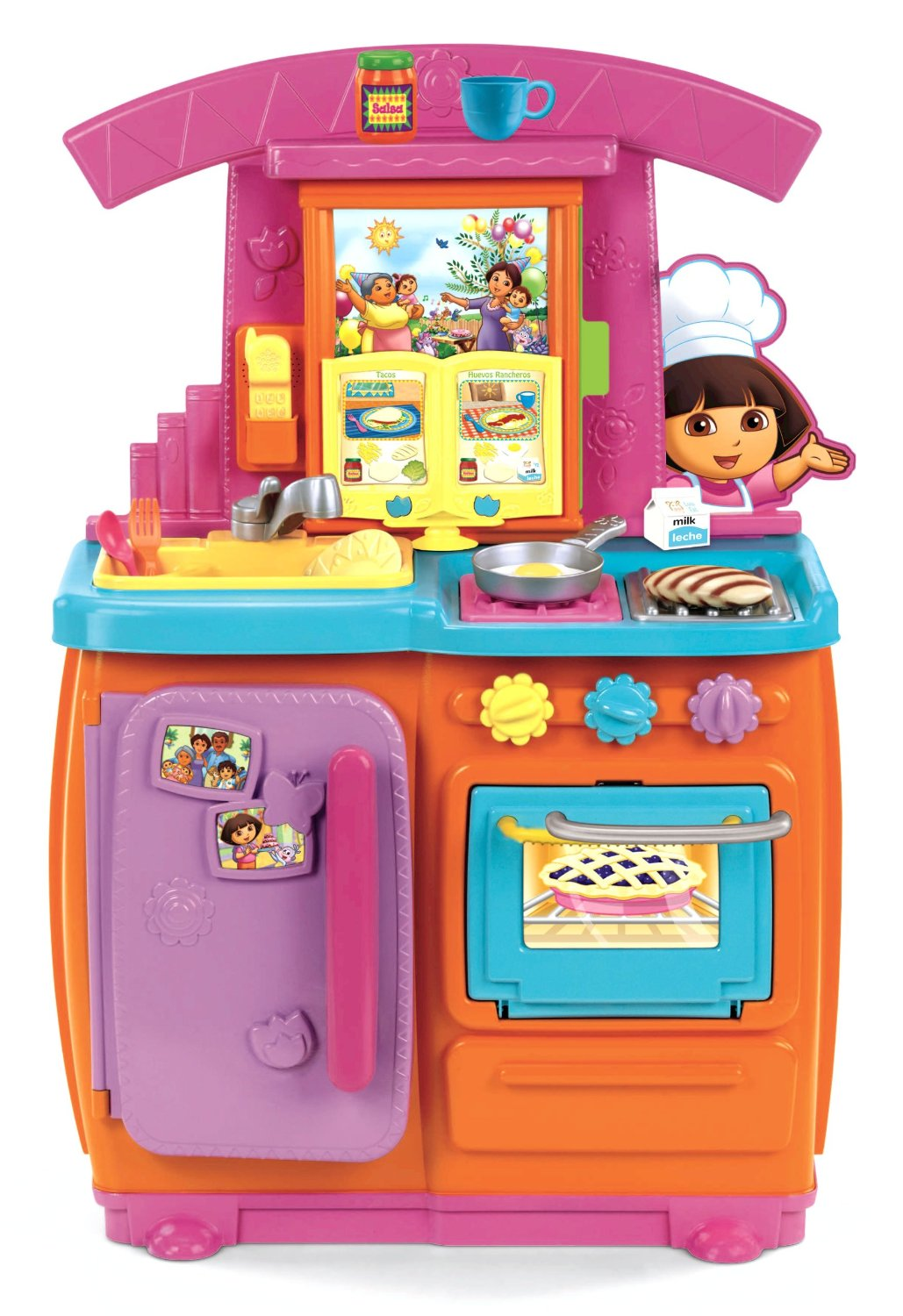 Do choi Ke bep FisherPrice Dora Fiesta Favorites Kitchen