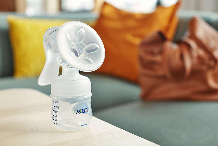 Kết quả hình ảnh cho cách dùng máy hút sữa avent