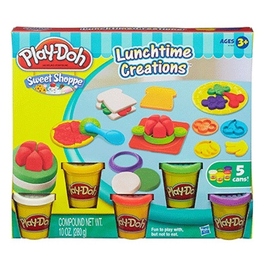 Bot nan Play Doh Sweet Shoppe Lunchtime Creations