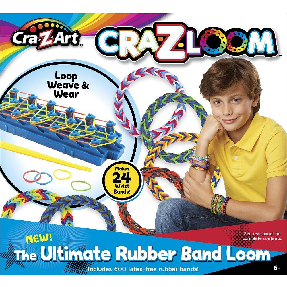 Sparkle Cra-Z-Loom Rubber Band Bracelet Maker