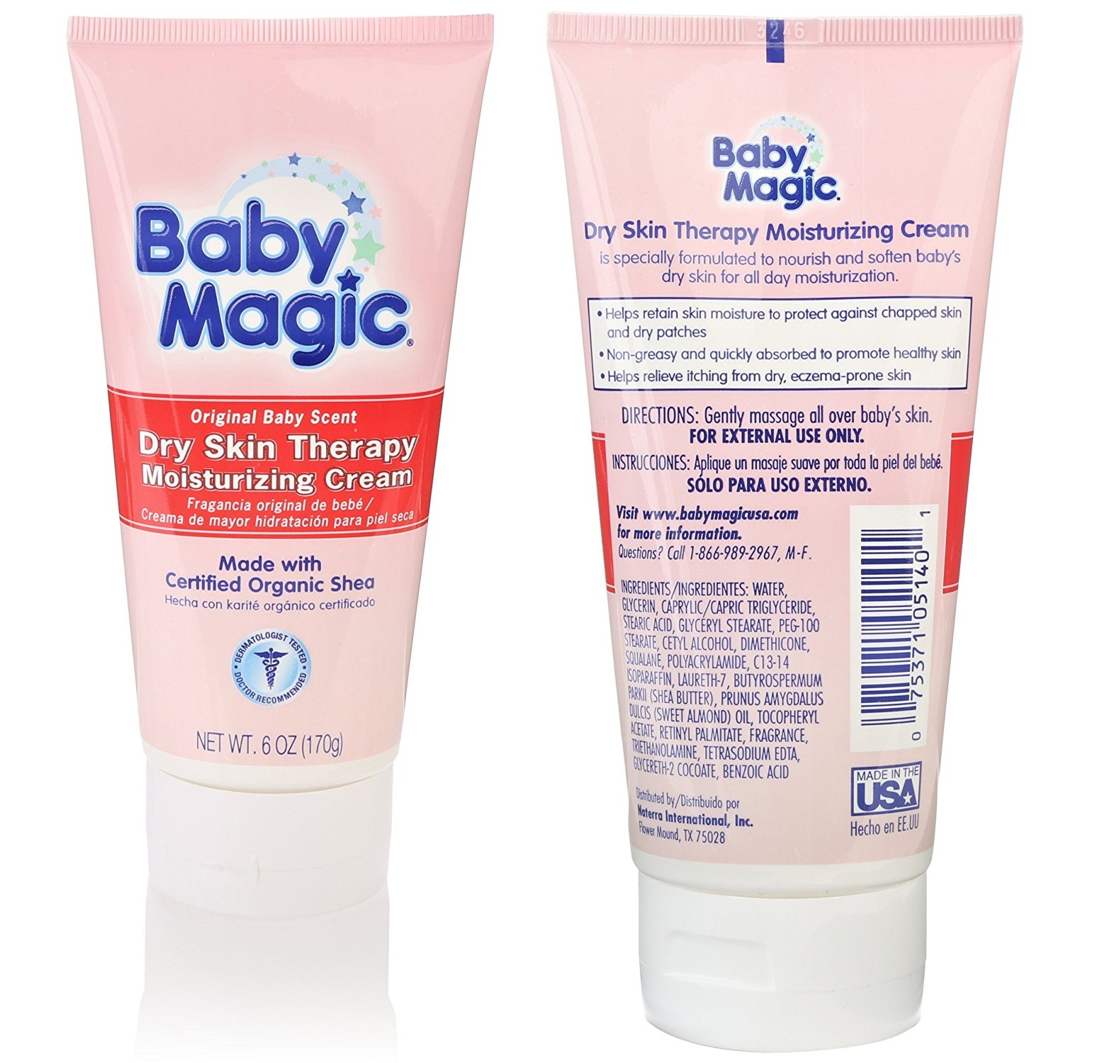 Baby Magic Dry Skin chuyên trị chàm cho bé Baby Magic Dry Skin Therapy Moisturizing Cream