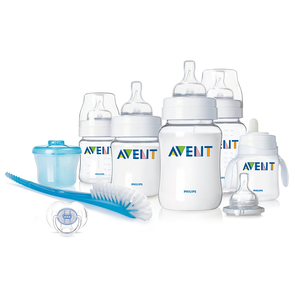 Bộ bình sữa Philips AVENT BPA Free Classic Infant Starter Gift Set