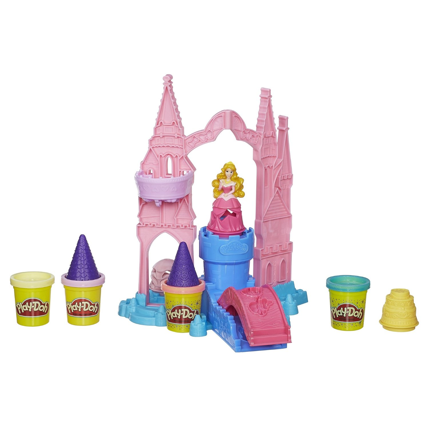 Bộ bột nặn  Play-Doh Mix 'n Match Magical Designs Palace Set Featuring Disney Princess Aurora