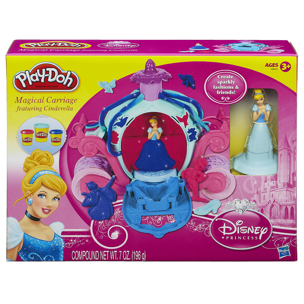 Bộ bột nặn Play-Doh Magical Carriage Featuring Disney Princess Cinderella