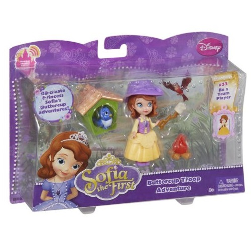 Bộ đồ chơi Búp bê Disney Sofia the First Buttercup Troop Sofia Doll Playset
