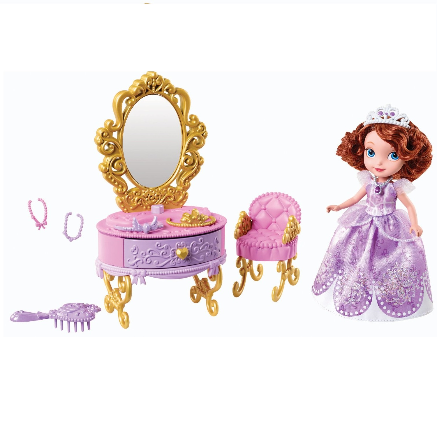 Bộ đồ chơi Công chúa Disney Sofia The First Ready for The Ball Royal Vanity