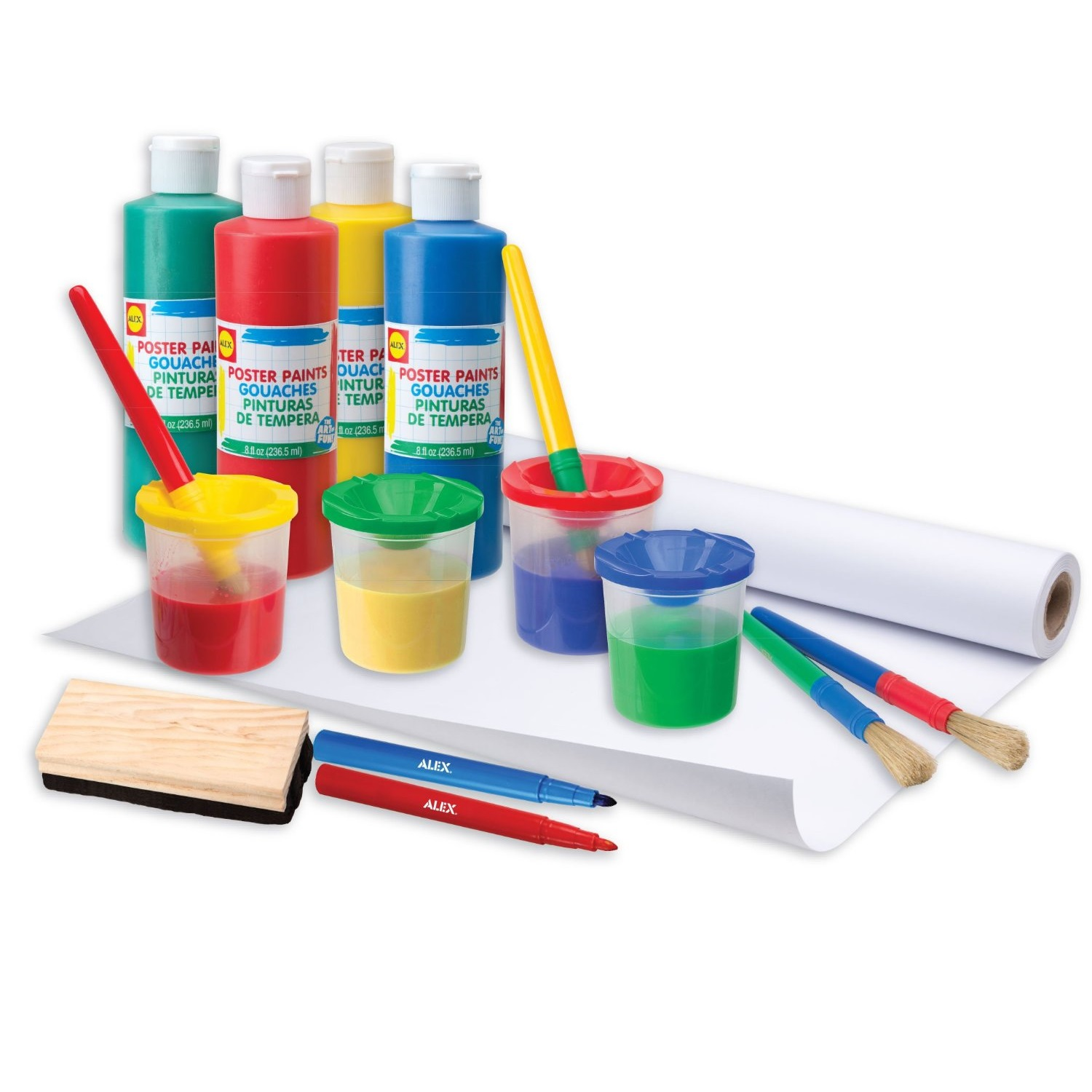 Bộ vẽ sáng tạo ALEX Toys Artist Studio Ultimate Easel Accessories Painting Kit