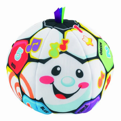 Bóng vải vui nhộn Fisher-Price Laugh & Learn Singin Soccer Ball