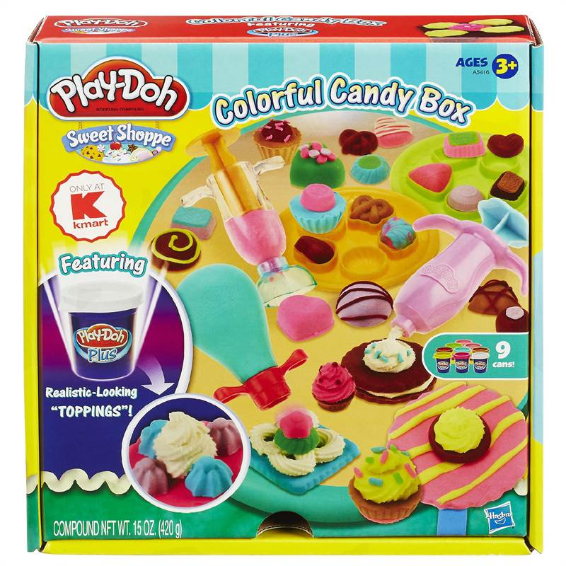 Bột nặn Play-Doh Sweet Shoppe Colorful Candy Box