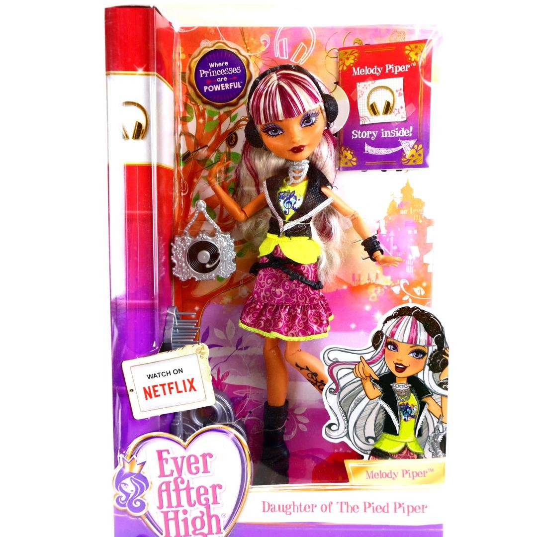 Búp bê cá tính Ever After High Daughter Of The Pied Piper
