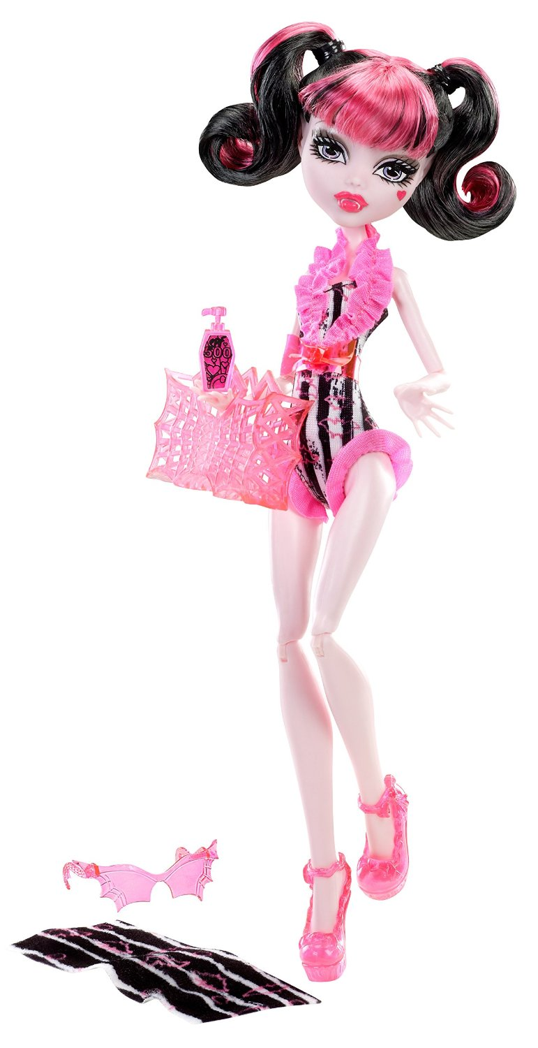 Búp bê Draculaura trên bãi biển - Monster High Beach Beasties Draculaura Doll