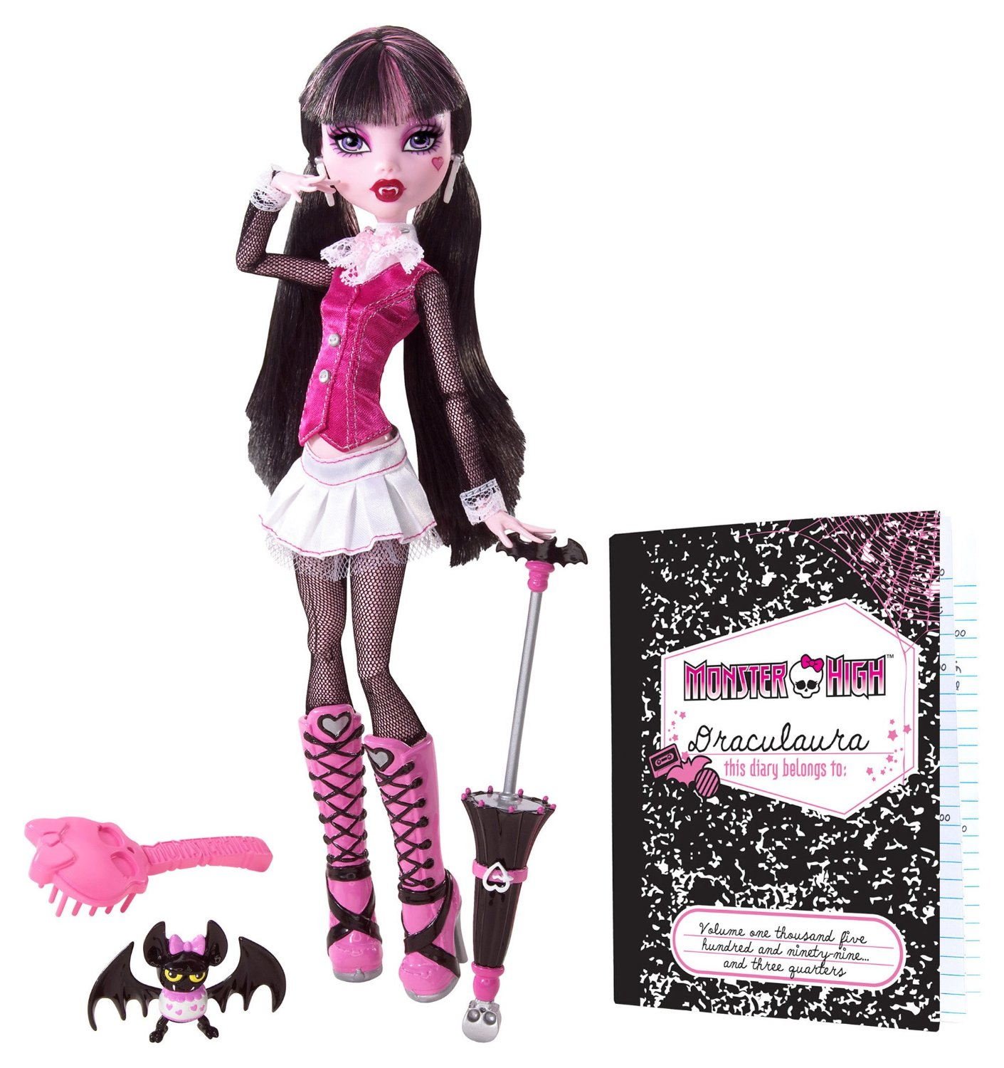 Búp bê Monster High Original Favorites Draculaura Doll