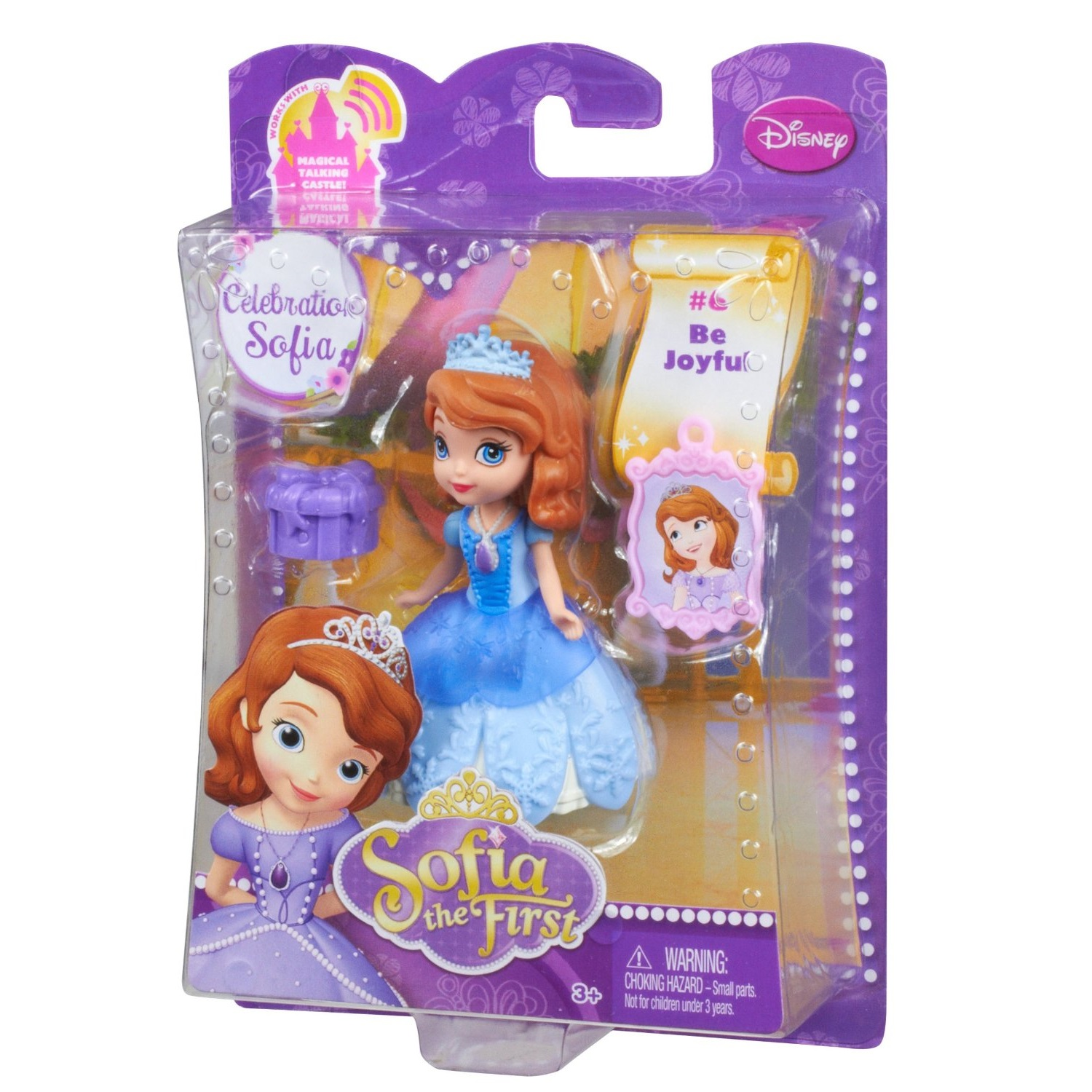 Búp bê thời trang Sofia  (Disney Sofia the First in Holiday Fashion Doll)