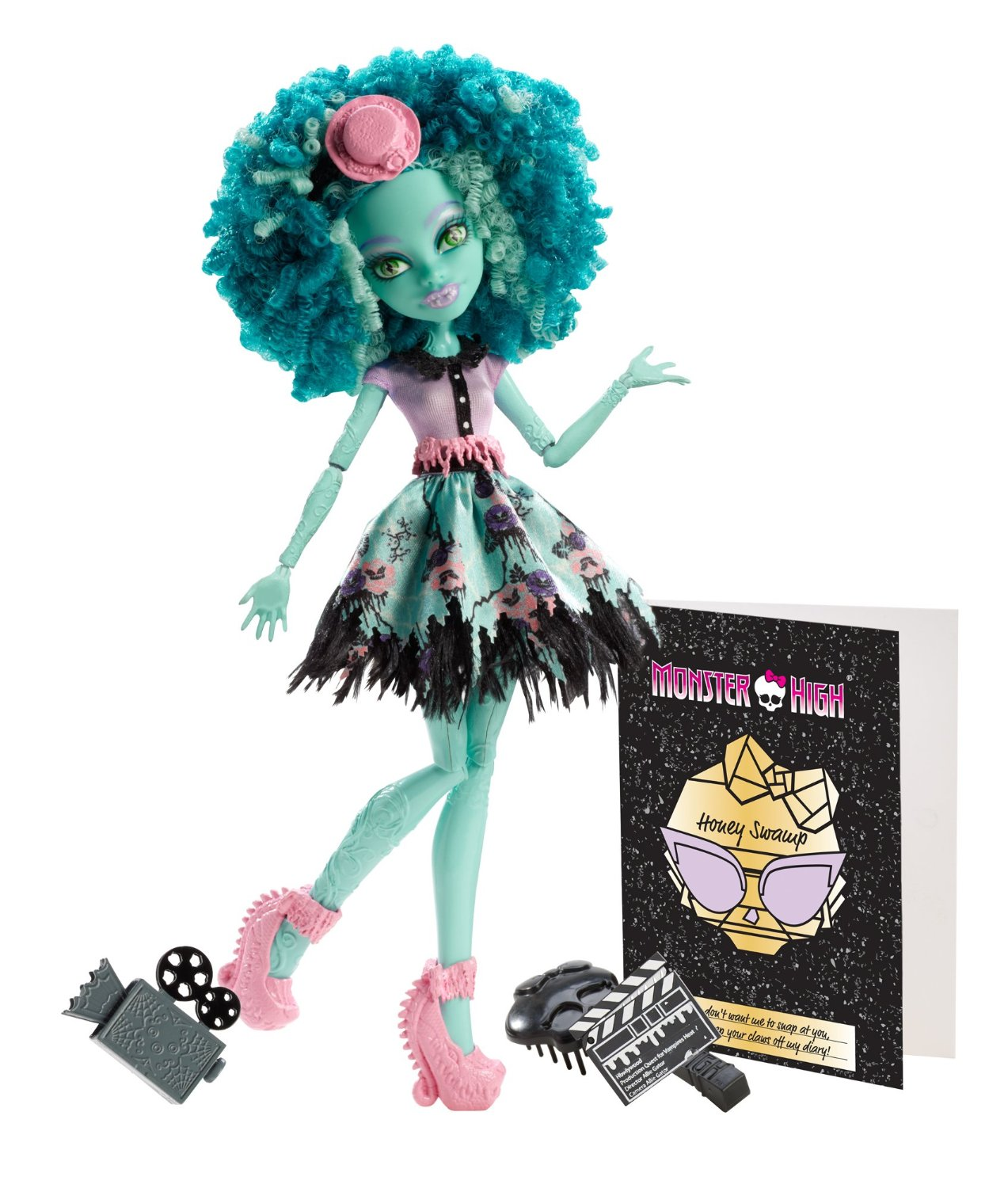 Con gái ác quỷ đầm lầy Monster High Frights, Camera, Action! Honey Swamp Doll