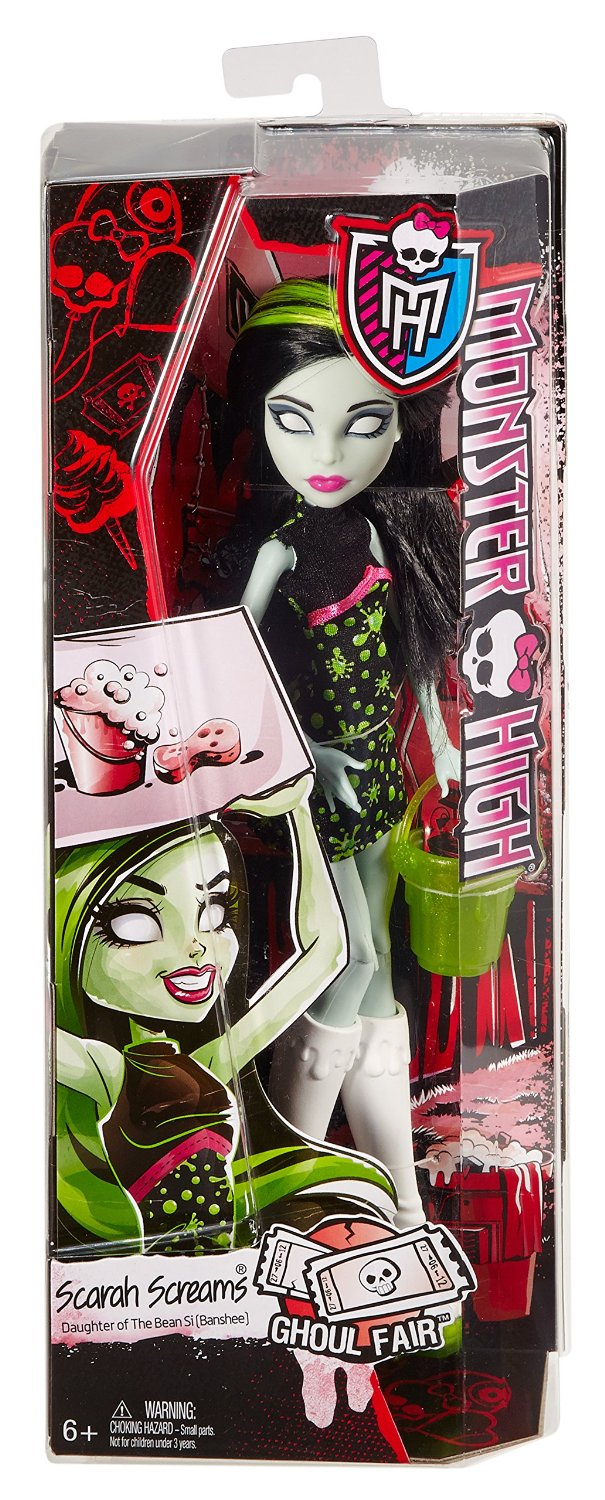 Công chúa la hét Monster High Ghoul Fair Scarah Screams Doll