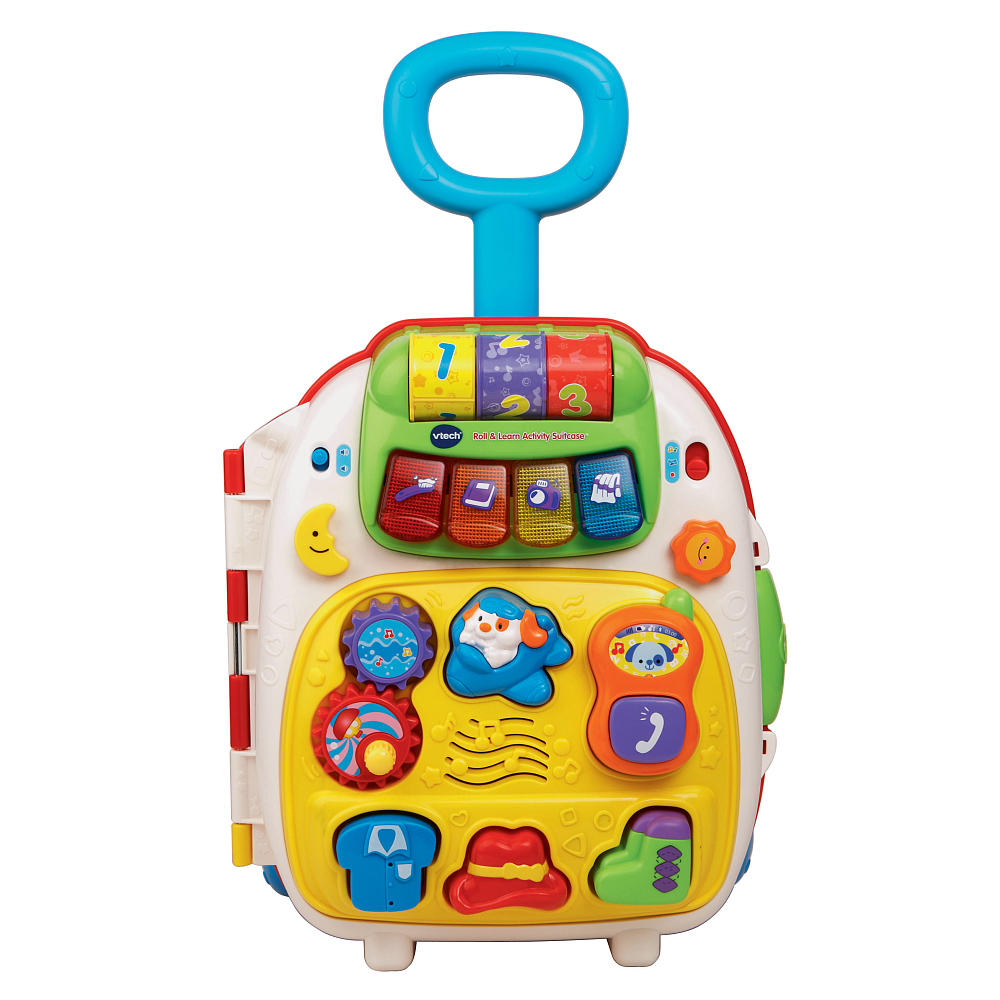 Đồ chơi túi xách vali VTech Roll and Learn Activity Suitcase