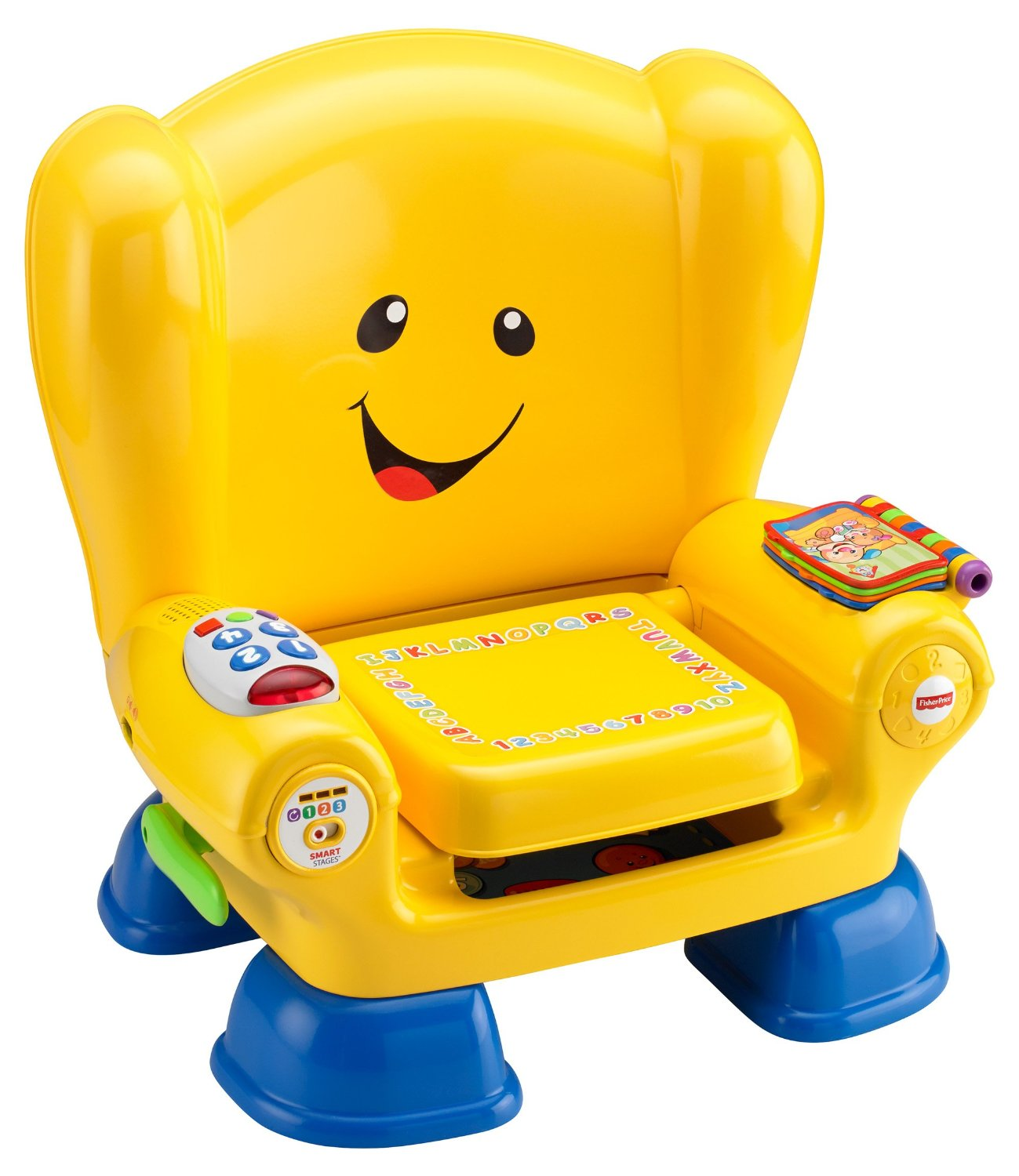 Ghế tựa thông minh Price Laugh & Learn Smart - Fisher-Price Laugh & Learn Smart Stages Chair