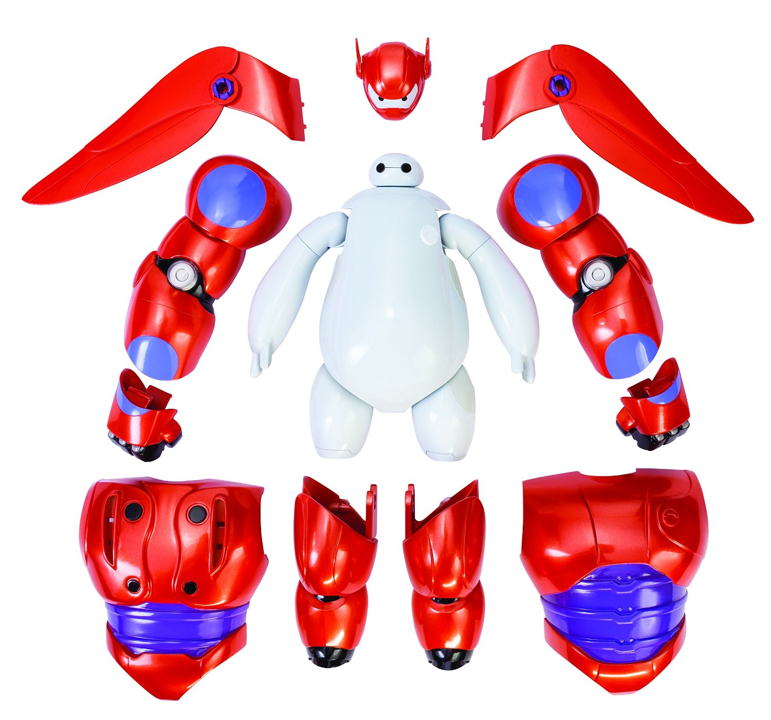 Ghép hình robot Baymax - Big Hero 6 Armor-Up Baymax Action Figure
