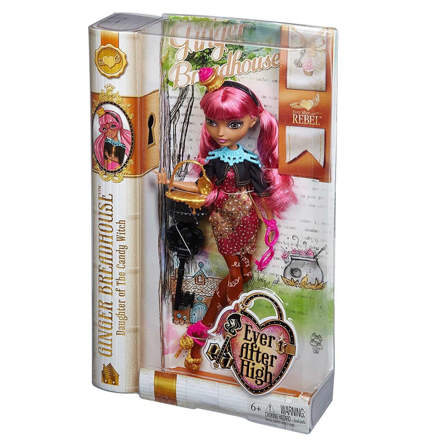 Ginger Breadhouse - búp bê con gái của phù thủy kẹo Ever After High Ginger Breadhouse Doll