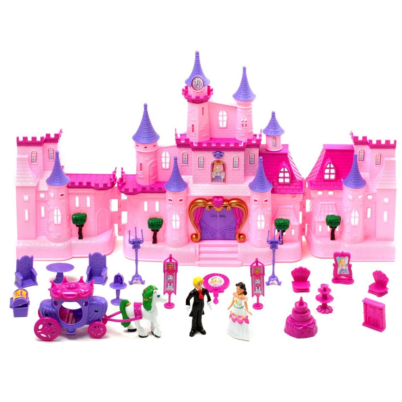 Lâu đài búp bê - Kids Authority Mega Victorian Castle Dollhouse