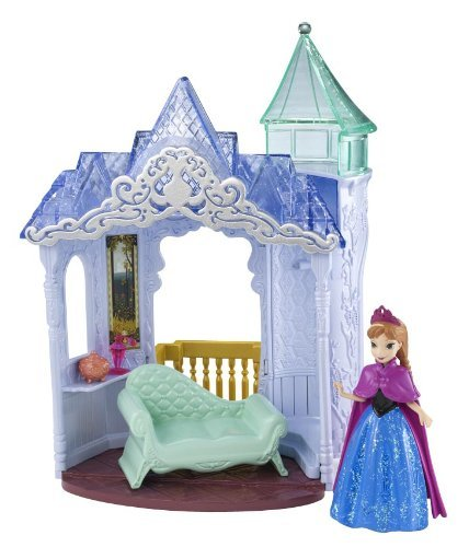 Lâu đài công chúa Anna Disney Frozen MagiClip FlipN Switch Castle and Anna Doll