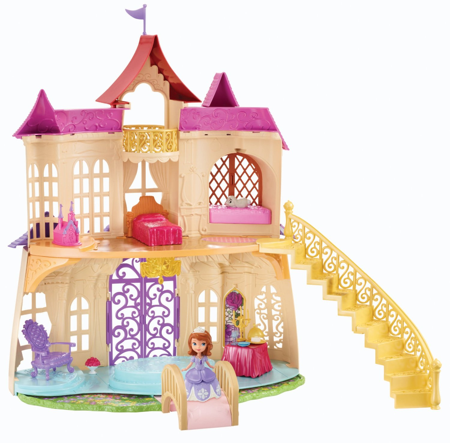 Ngôi nhà của công chúa Sofia - Disney Sofia The First New Magical Talking Castle