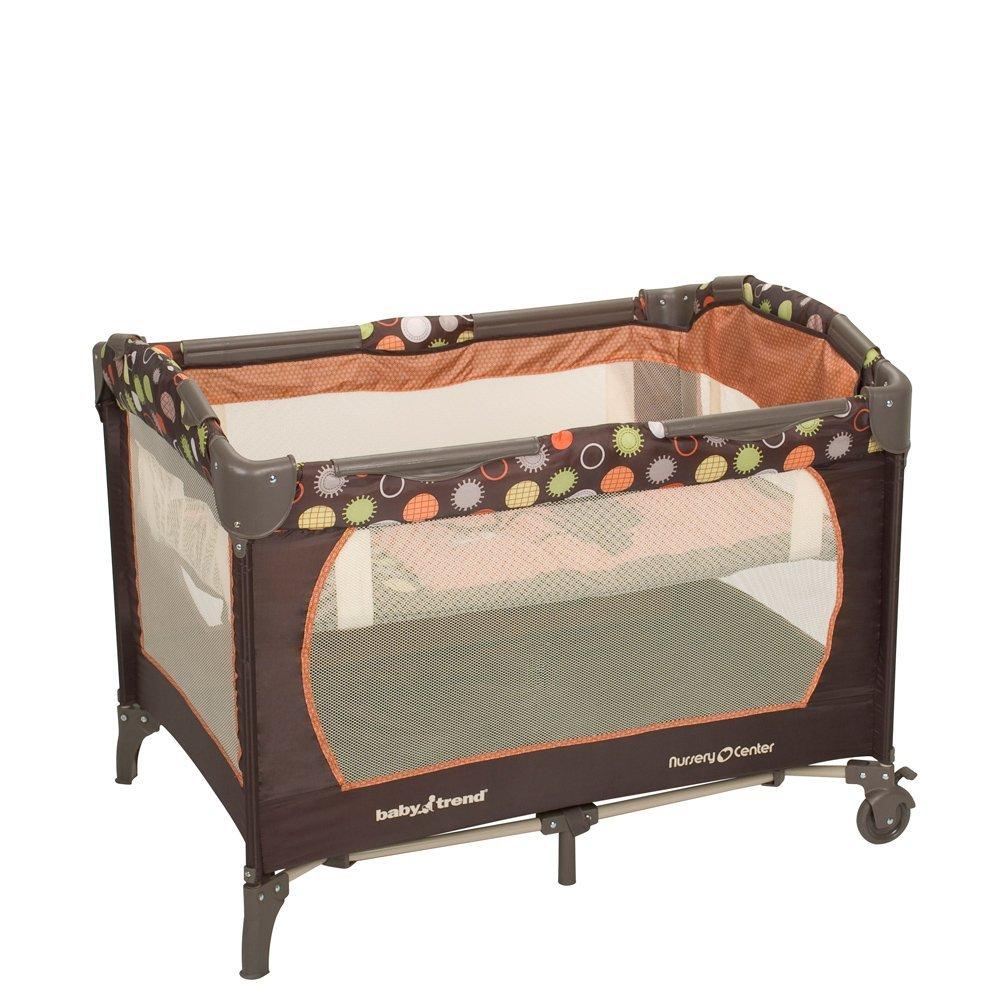 N 244 I Ngủ đa Năng Baby Trend Nursery Center Playard Safari