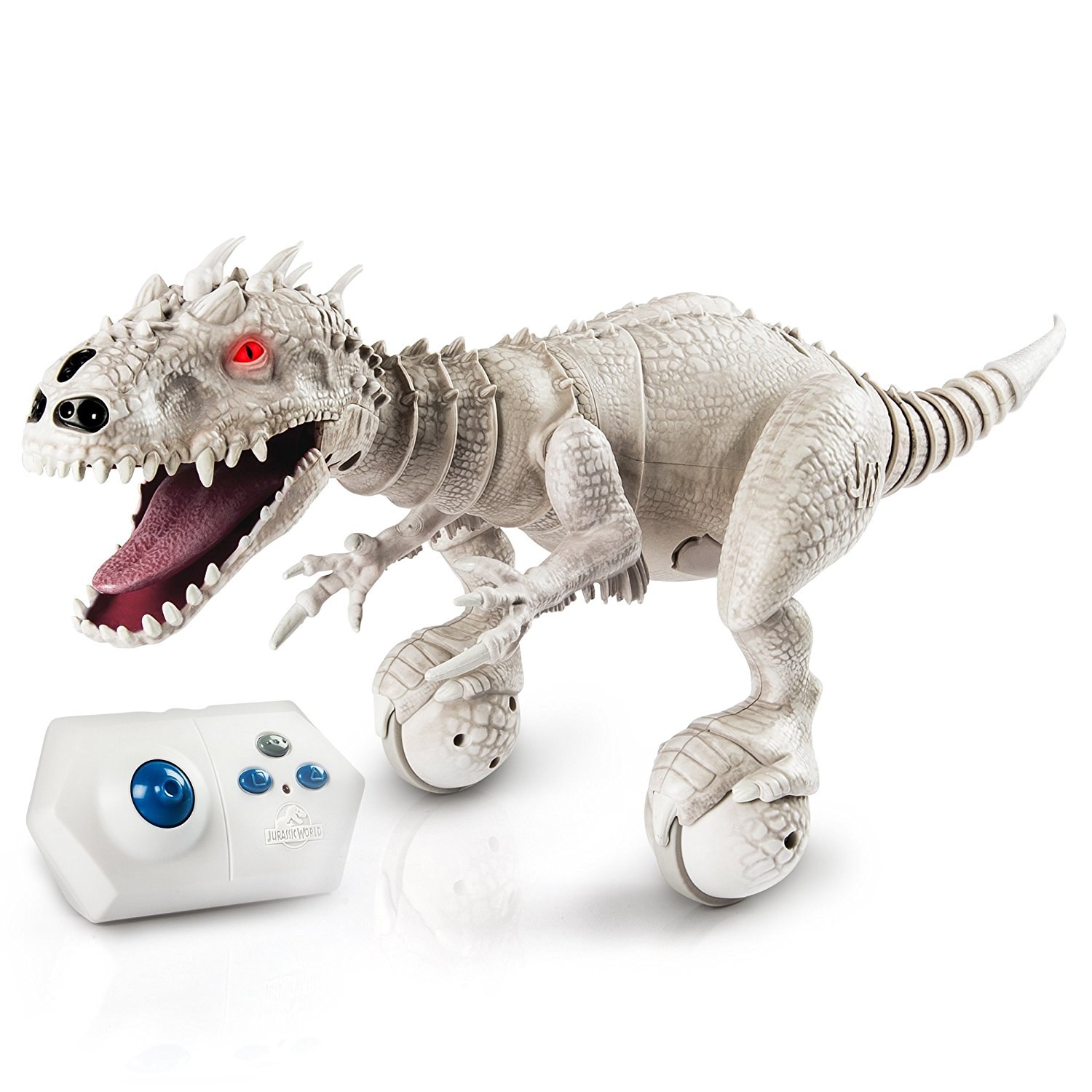 Robot khủng long xám Zoomer Dino, Jurassic world INDOMINUS REX-Collectible Robotic Edition