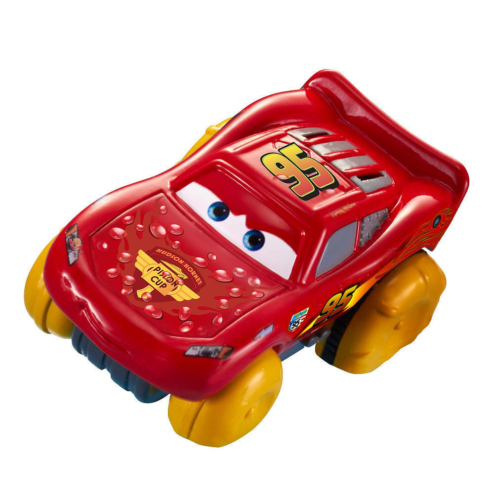 Siêu xe tốc độ Disney/Pixar Cars Hydro Wheels Lightning McQueen Bath Vehicle