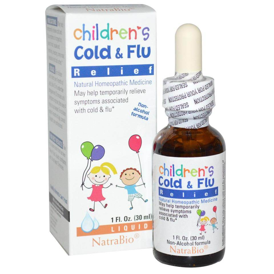 Siro Children's Cold & Flu Relief ( 30ml ) - trị cảm cúm