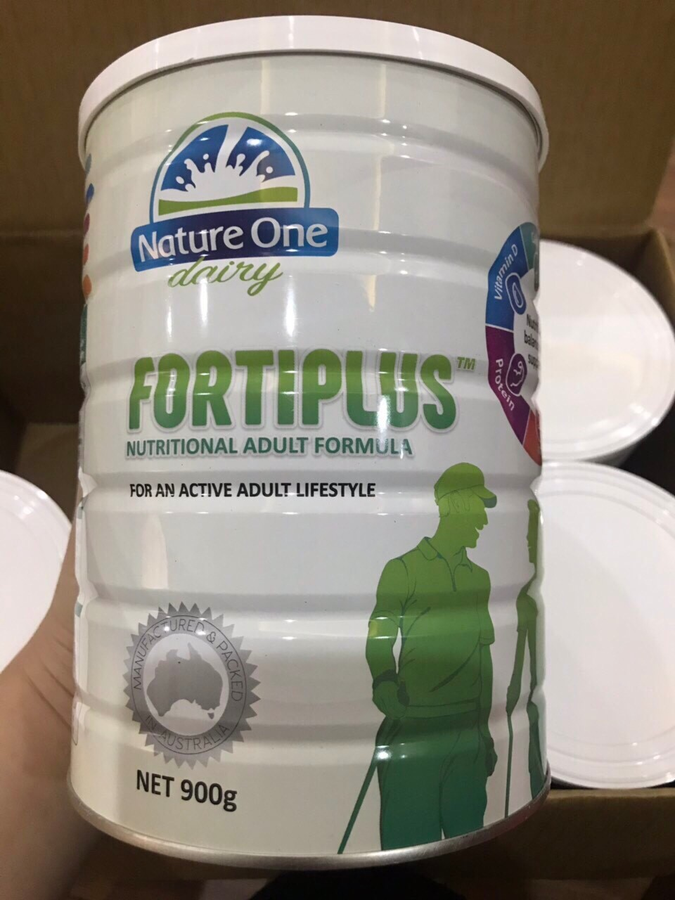 Sữa bột Nature One Dairy Fortiplus 900g