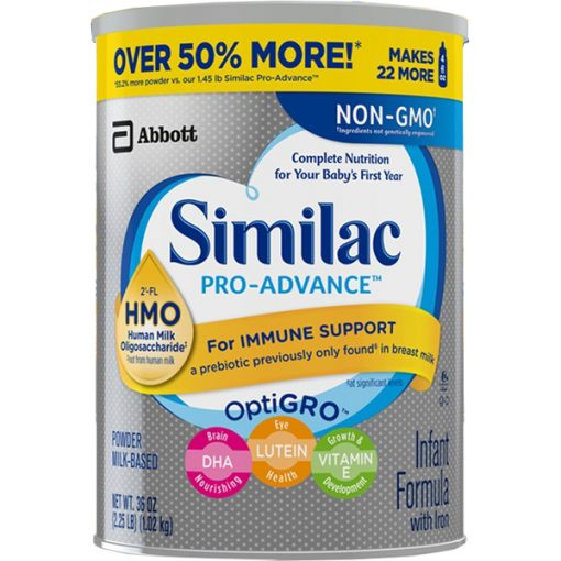 Sữa bột Similac Go & Grow NON-GMO Milk-Based Toddler Drink Powder With 2'-FL HMO 1.02kg
