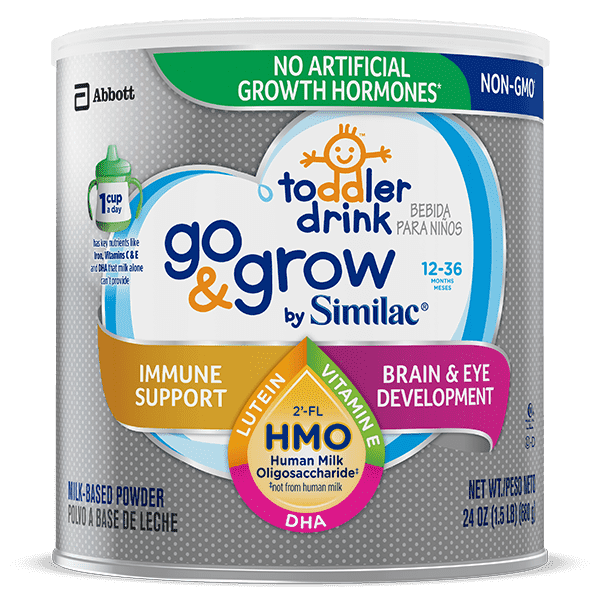 Sữa bột Similac Go & Grow NON-GMO Milk-Based Toddler Drink Powder With 2'-FL HMO 680g