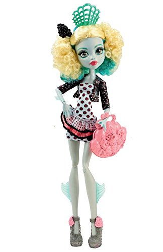 Tiểu quái vật biển đi du lịch Monster High Monster Exchange Program Lagoona Blue Doll